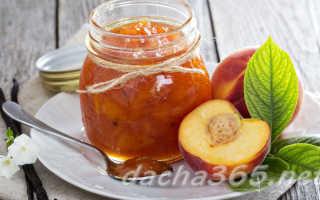 Варенье из персиков без косточек: простые рецепты