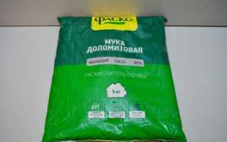 Доломитовая мука: состав, применение для удобрения, внесение