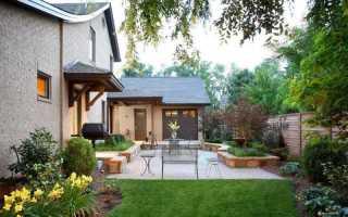 Задний двор — оригинальные идеи стильного обустройства территории (95 фото)