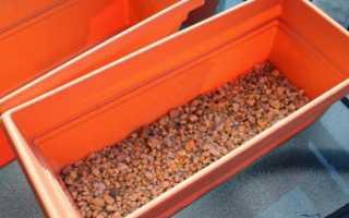 Использование дренажа при выращивании комнатных растений
