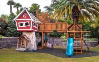 Детская площадка своими руками из подручных средств: пошаговая инструкция с фото и видео, идеи поделок