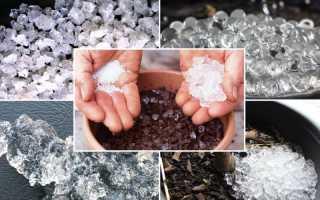Гидрогель или аквагель. Как применять полимер на дачном участке. Принцип действия гидрогеля и применение суперабсорбента при выращивании растений