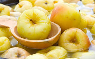 Как мочить яблоки на зиму в домашних условиях