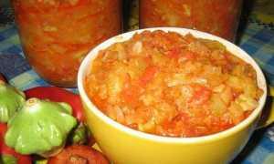 Икра из патиссонов на зиму – простой рецепт с томатной пастой через мясорубку