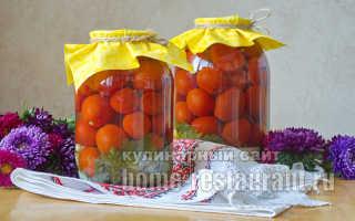 Заготовки на зиму из помидор — рецепты