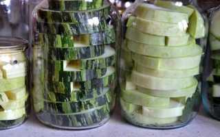 Как мариновать кабачки цукини на зиму