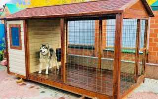 Как построить вольер для собаки своими руками?